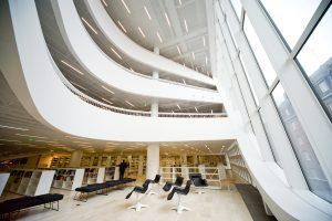 Helvar Lighting case studies at Helsinki University library